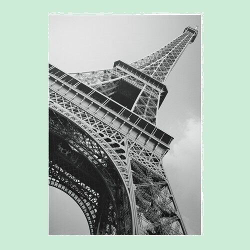 ikea bassholma large picture photo canvas paris eiffel tower poster ebay. Black Bedroom Furniture Sets. Home Design Ideas