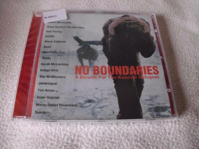 No Boundaries - A Benefit for the Kosovar Refugees  CD  - OVP
