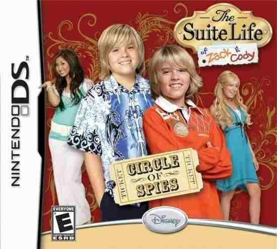 Suite Life of Zack Cody Circle of Spies DS/Lite/DSi/XL/3DS NEW