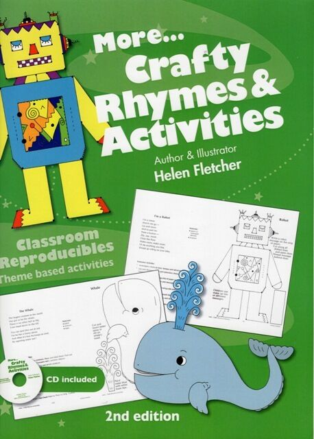Teacher craft book - More Crafty Rhymes and Activities
