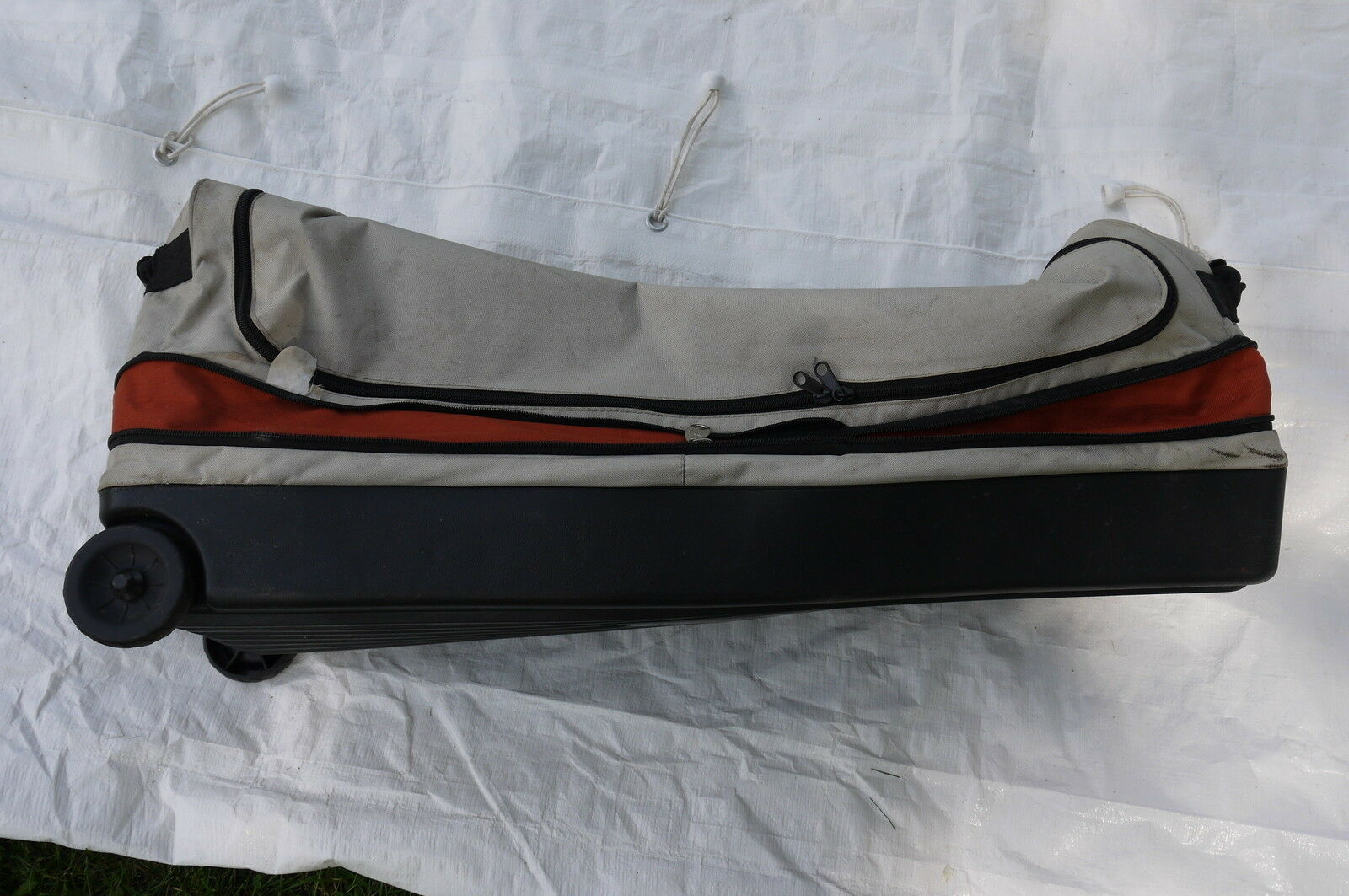 Picture 1 of 8 ... & Columbia Tent Cougar Flats II Part Carry Storage Bag With Wheels ...