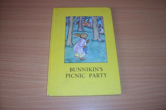LADYBIRD BOOK Bunnikin's Picnic Party by A.J. Macgregor, W. Perring
