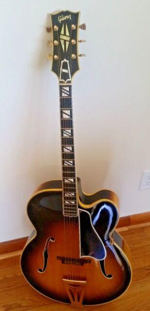 1968 Gibson Custom Super 400 S C Sunburst Archtop Acoustic Guitar SN896158