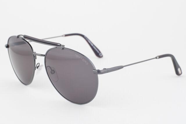 Authentic Tom Ford Sunglasses Colin Tf338 09n Gunmetal Frames Green ...