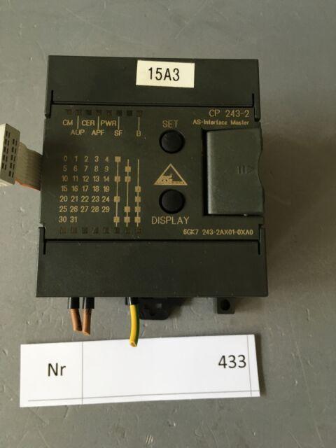 Siemens Simatic Net AS-Interface CP 243-2  NR 6GK7 243-2AX01-0AX0
