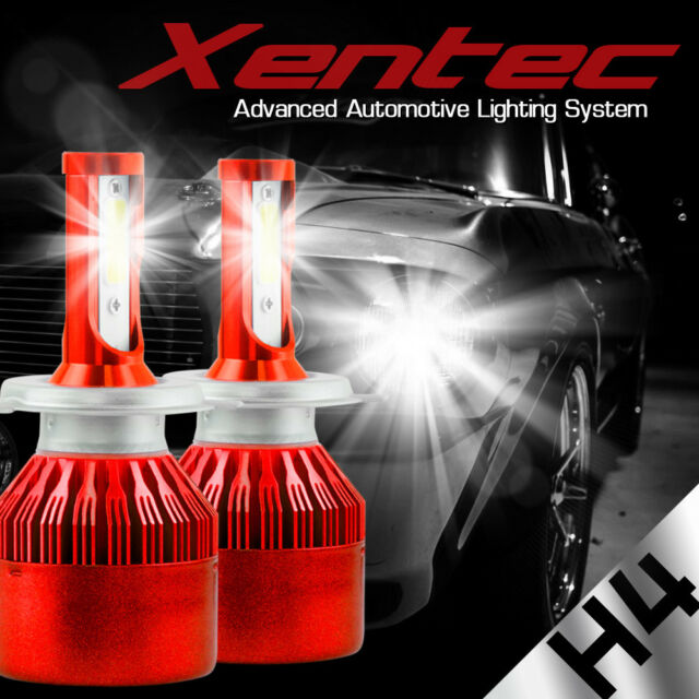 xentec led hid headlight kit h4 9003 6000k for nissan x trail 2005   installation