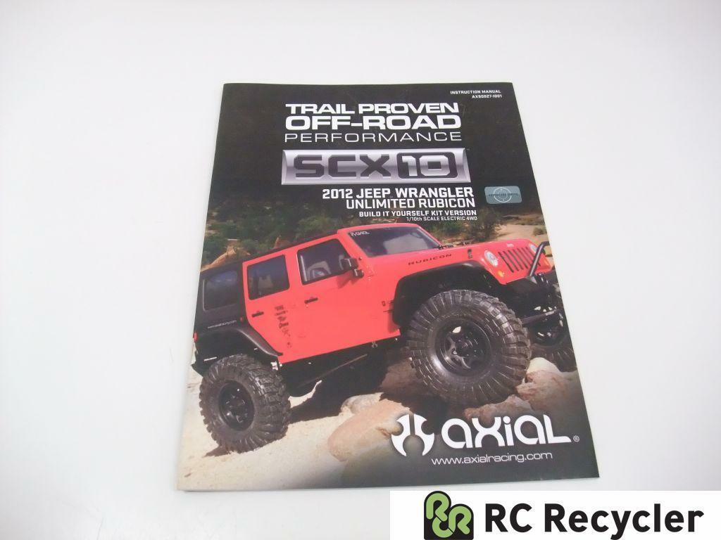 axial scx10 jeep wrangler unlimited rubicon ax90027 | ebay