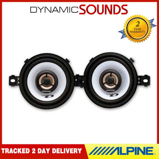 "Alpine SXE-0825S 3-1/2"" (8.6cm) Coaxial 2-Way Car Speakers 150W"