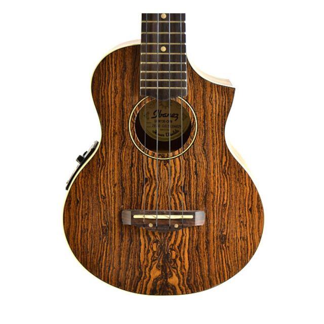 Ibanez UEW13E Acoustic Electric Cutaway Concert Ukulele