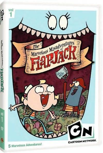 MARVELOUS MISADVENTURES OF FLAPJACK 1 (Cartoon Network) - DVD - Region 1