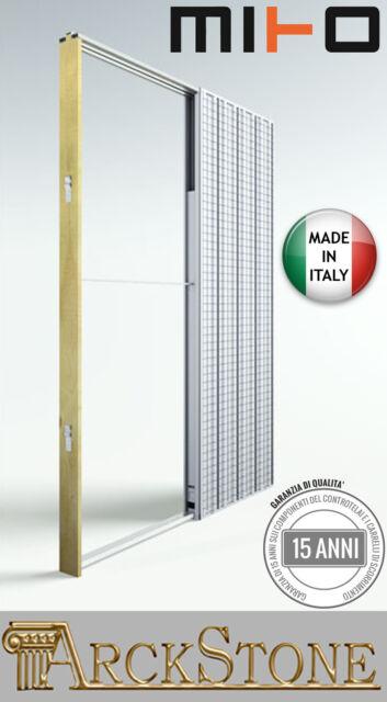 Arckstone controtelaio Telaio porte scorrevoli intonaco Casa Mito 60x210x10  5 cm