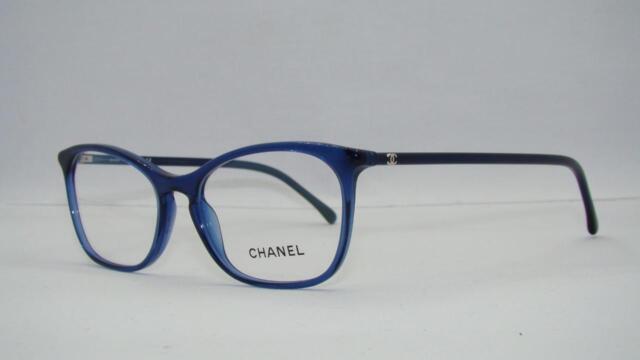 chanel 3281 503 blue brille glasses eyeglasses frames size