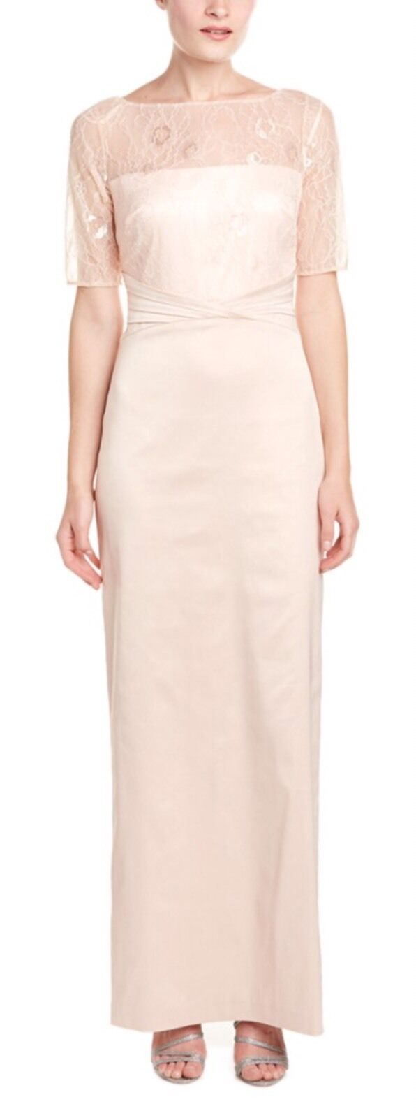 Kay Unger Womens Gown 12 Pink | eBay