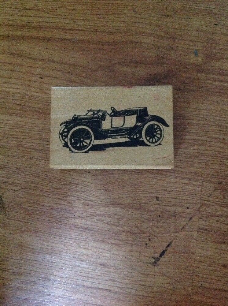 Inkadinkado Vintage Auto Rubber Stamp 91406 Cars   eBay