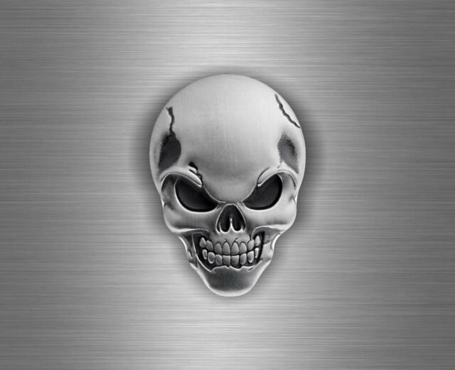 Sticker decal car vinyl motorcycle tuning jdm skull biker moto death skeleton ro