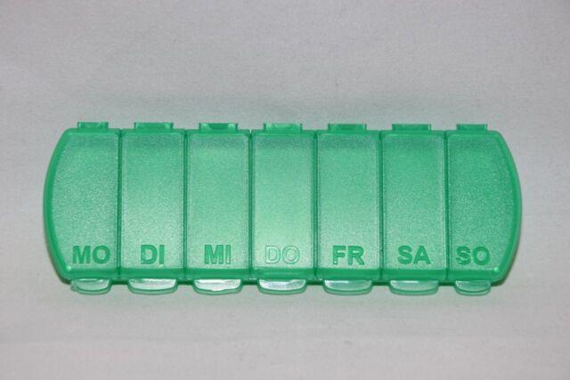 Pillendose,Tablettendose,7 Tage,Pillenspender,Tablettenbox,Pillenbox,7 Fächer