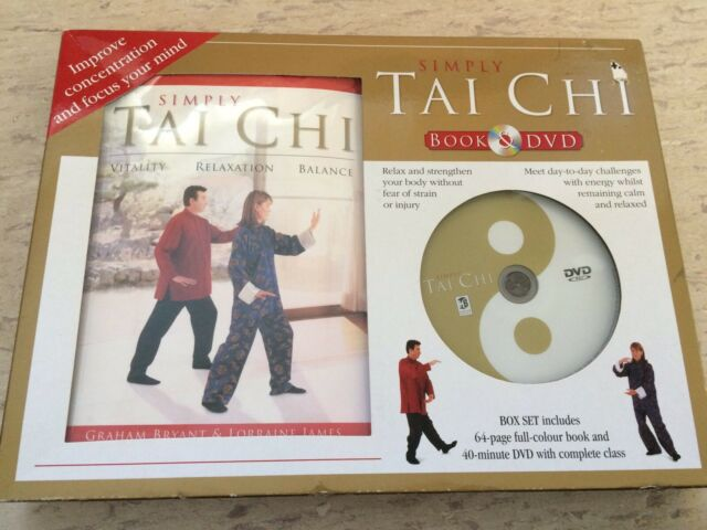 Simply tai chi (Gift Box DVD Series) by Hinkler Books 2006 Book and DVD set