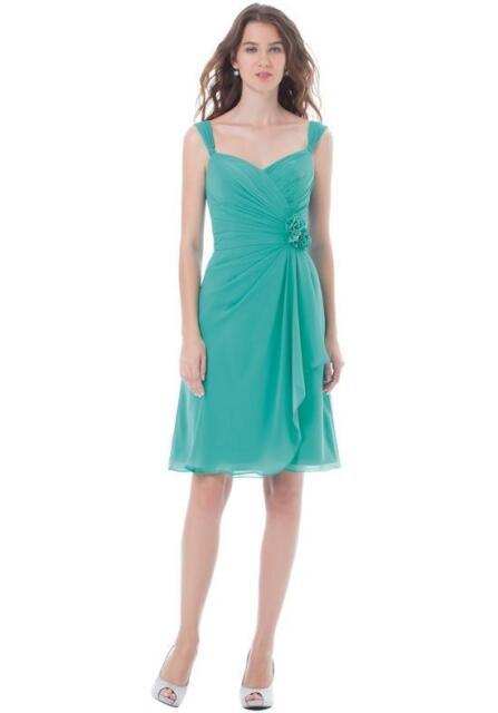 Bill Levkoff Bridesmaid Dress 474 Prom Wedding Short Gown Sleeveless ...