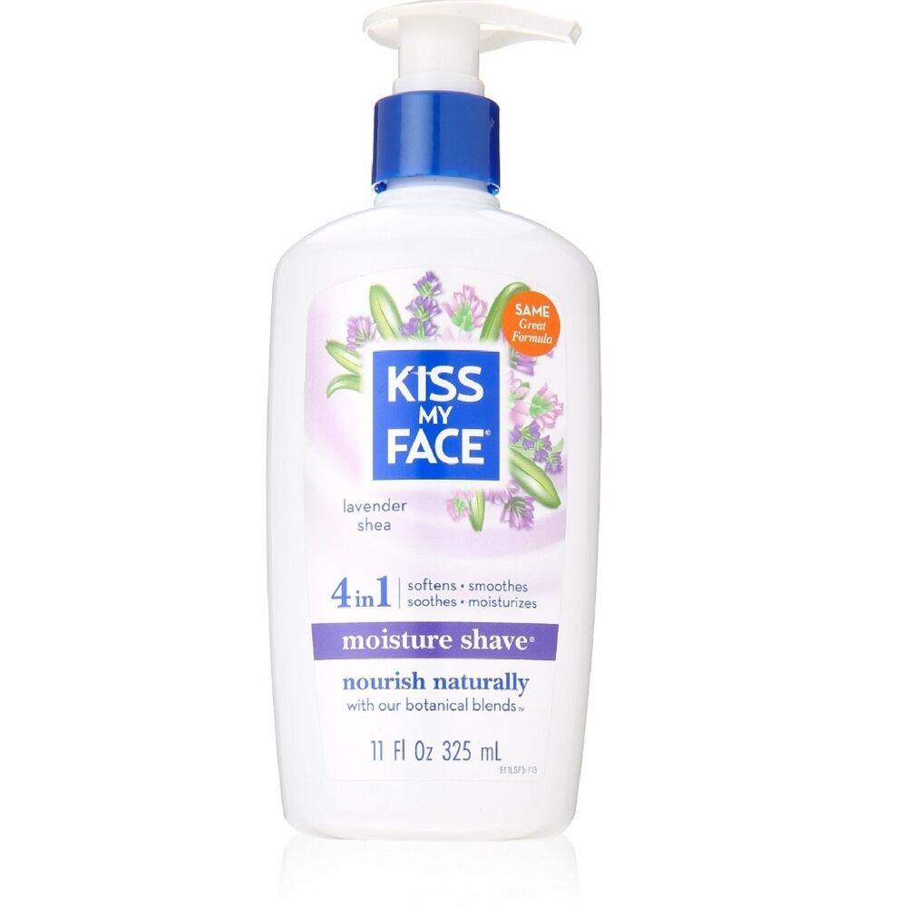 Kiss My Face Moisture Shave, Lavender & Shea 11 oz CLEAN & CLEAR Blackhead Eraser Scrub Oil-Free 5 oz (Pack of 2)