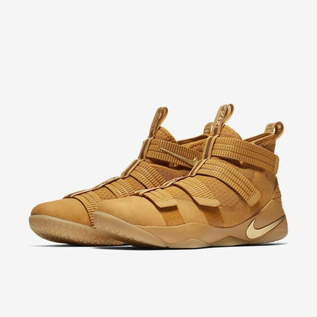 Mens Nike Lebron Solder XI SFG 897646-700 Wheat Gold Brand New Size 13