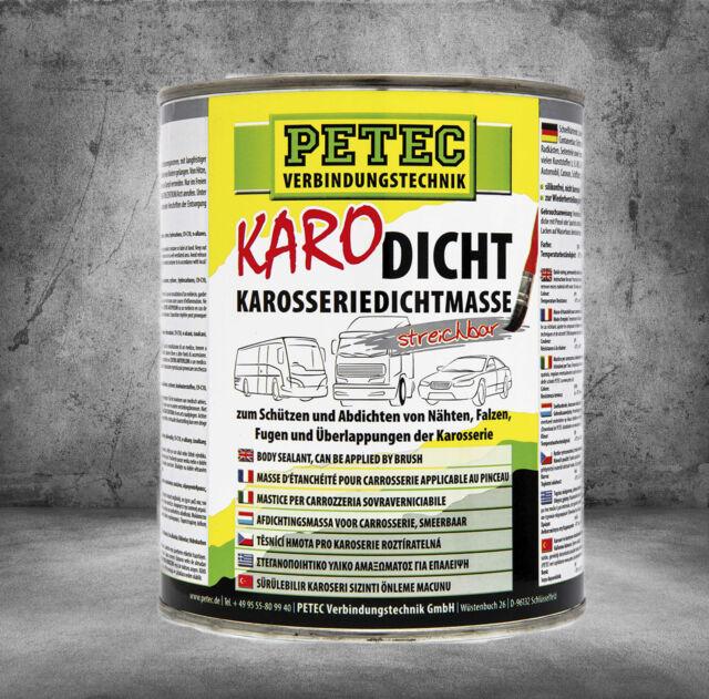 PETEC KARO-Dicht Karosserie Dichtmasse streichbar 1L   94130