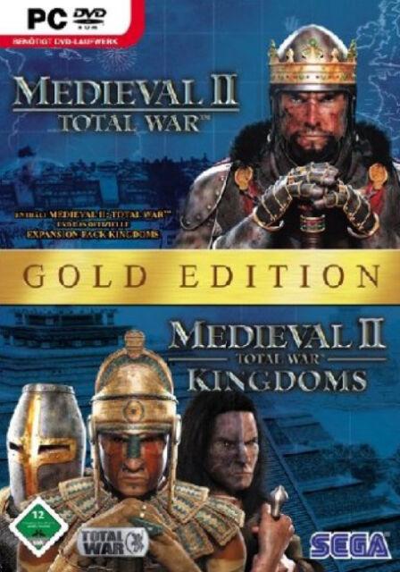 Total War Medieval II - Gold Edition - Kult - Retro - mit Handbuch