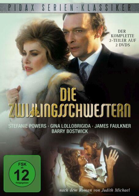 Die Zwillingsschwestern - DVD TV Serie 2-Teiler Gina Lollobrigida Pidax Neu Ovp