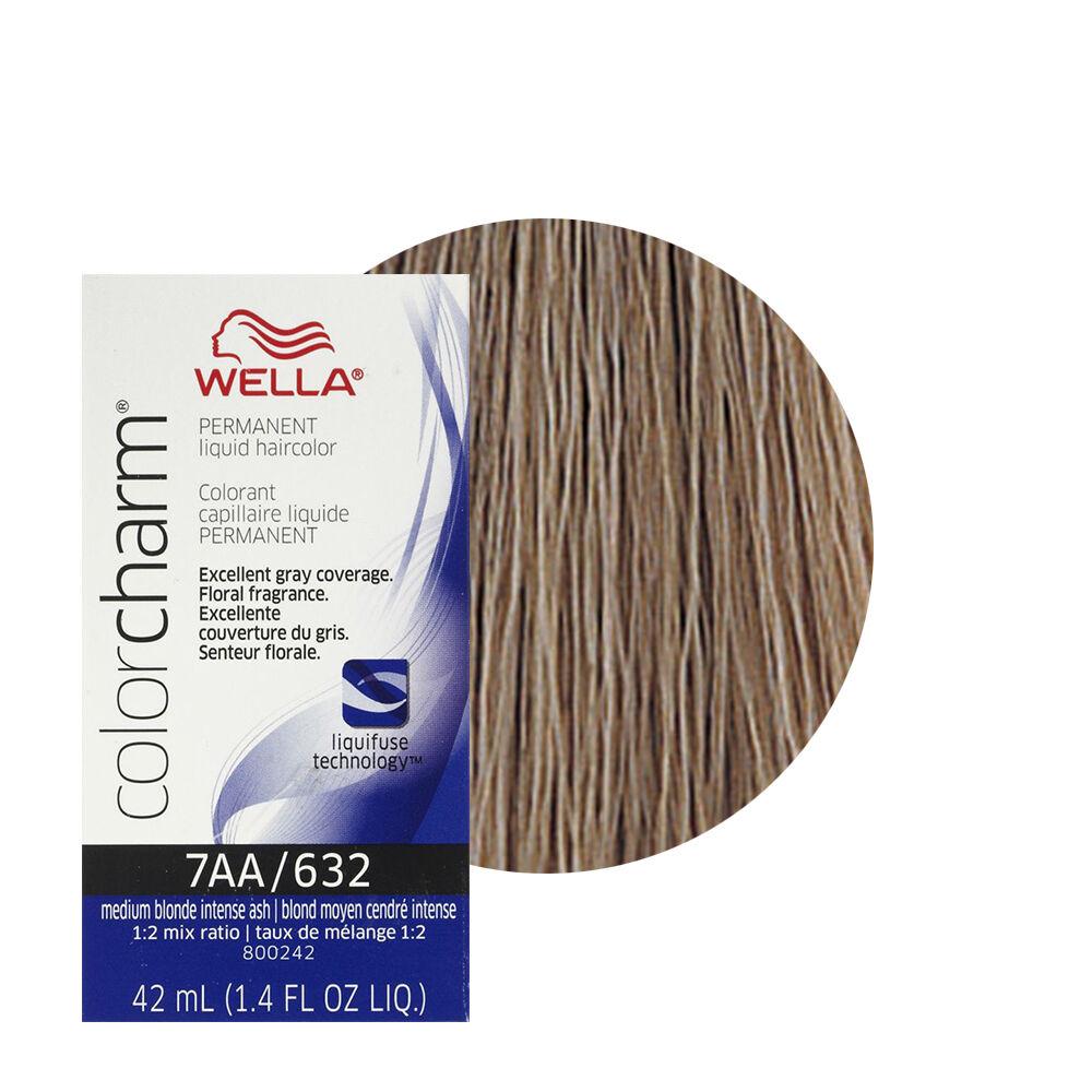 Wella hair color products ebay wella color charm permament liquid hair color medium blonde intense ash 632 7aa nvjuhfo Choice Image