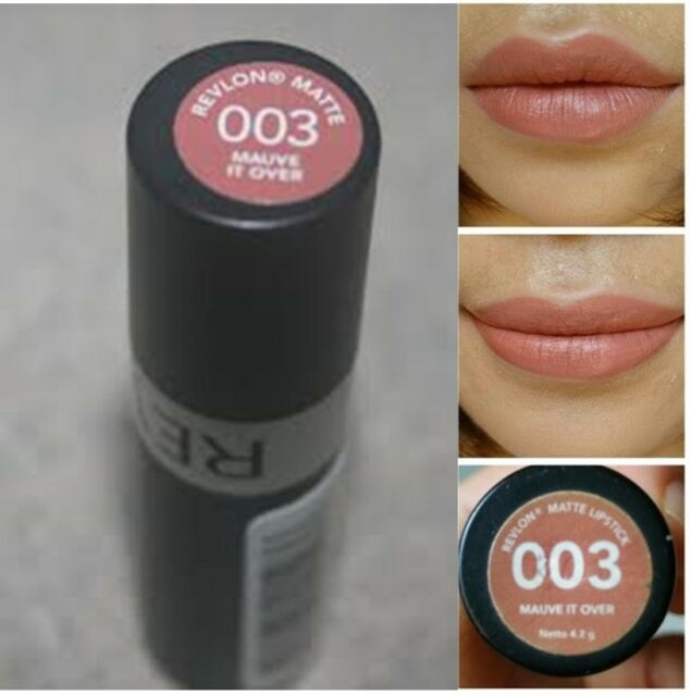 revlon matte lipstick 003 mauve it over 4 2 g 1 pcs ebay. Black Bedroom Furniture Sets. Home Design Ideas