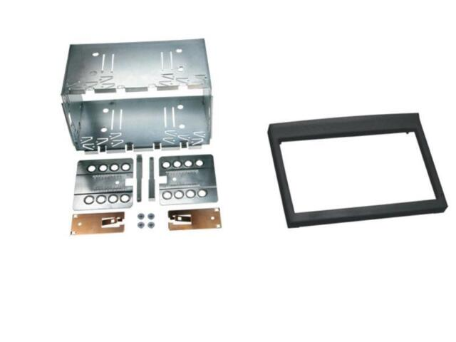 PORSCHE BOXSTER (Typ 986)  Auto Radio Blende, Einbau Rahmen, Doppel-DIN / 2-DIN