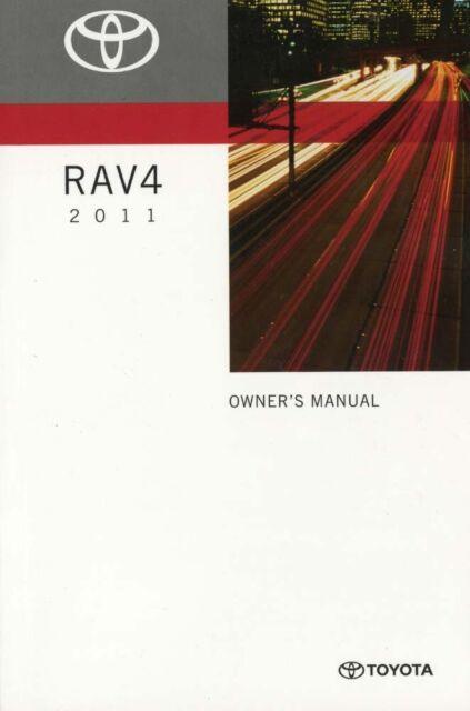 2011 toyota rav4 owners manual user guide ebay rh ebay com 2010 toyota rav4 owners manual pdf 2010 toyota rav4 owners manual pdf