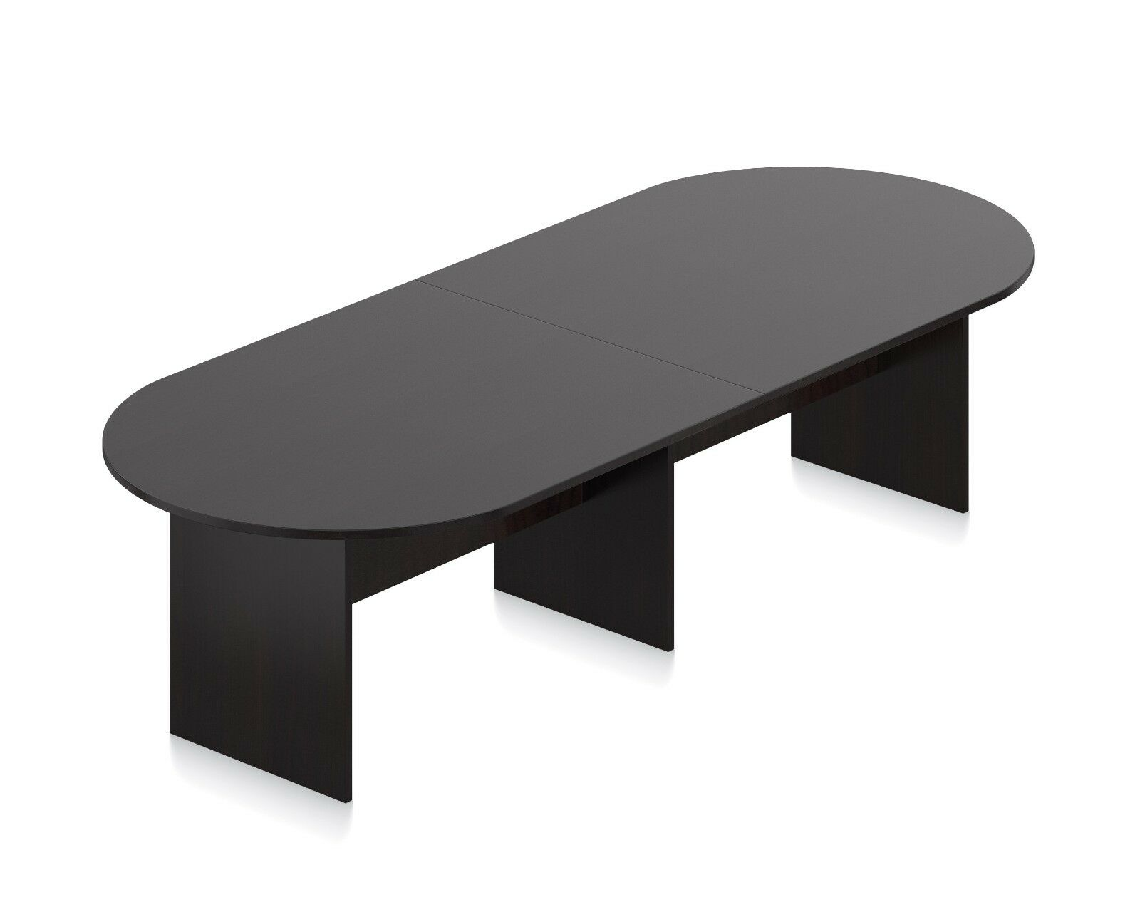 Ft Conference Boardroom Racetrack Table In Espresso Finish EBay - Conference room table price