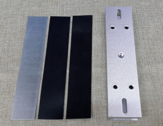 Aluminium U Bracket For 280kg E Magnetic Lock F Frameless Glass