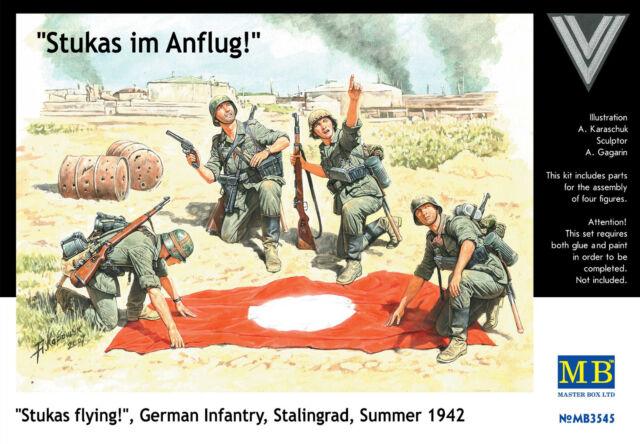 "MASTER BOX™ 3545 ""Stukas Flying"" Germany Infanty Stalingrad Summer 1942 in 1:35"