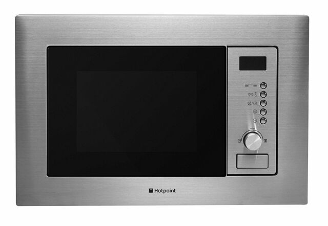 Hotpoint Mwh122 1x Built In Microwave Oven Stainless Steel 800w 20l