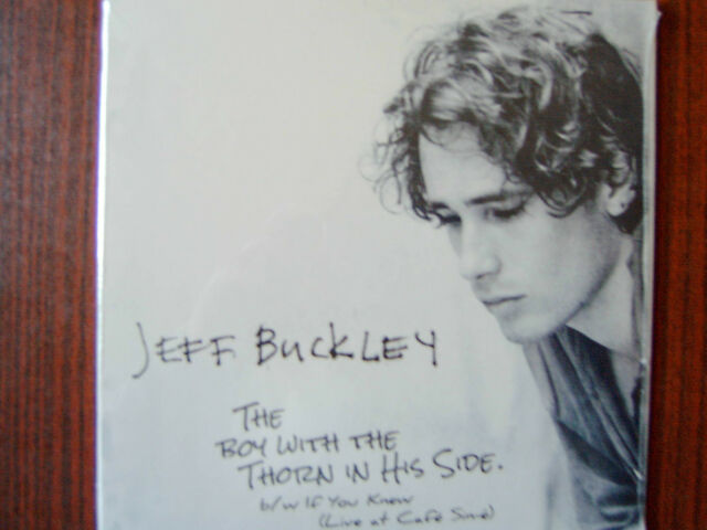 "Jeff Buckley-The Boy With The Thorn In His Side  7"" Single 1994/2016 NEW-OVP"