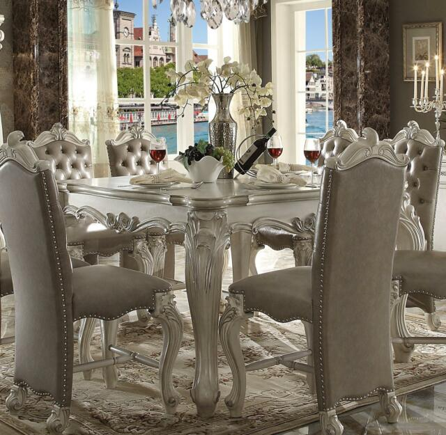 Ebay Dining Room Set: Acme Furniture White Versailles Dining Room Set Classic