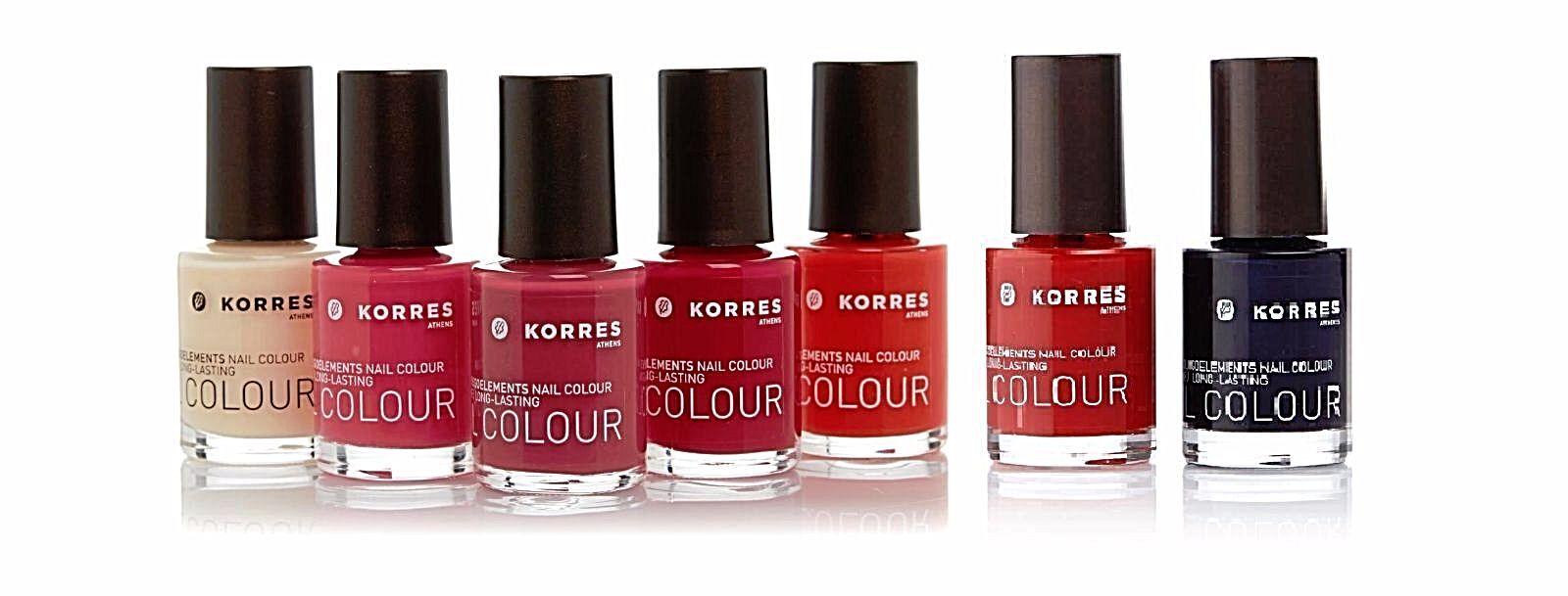 KORRES Myrrh & Oligoelements Nail Colour Polish 0.34 Oz * Color ...