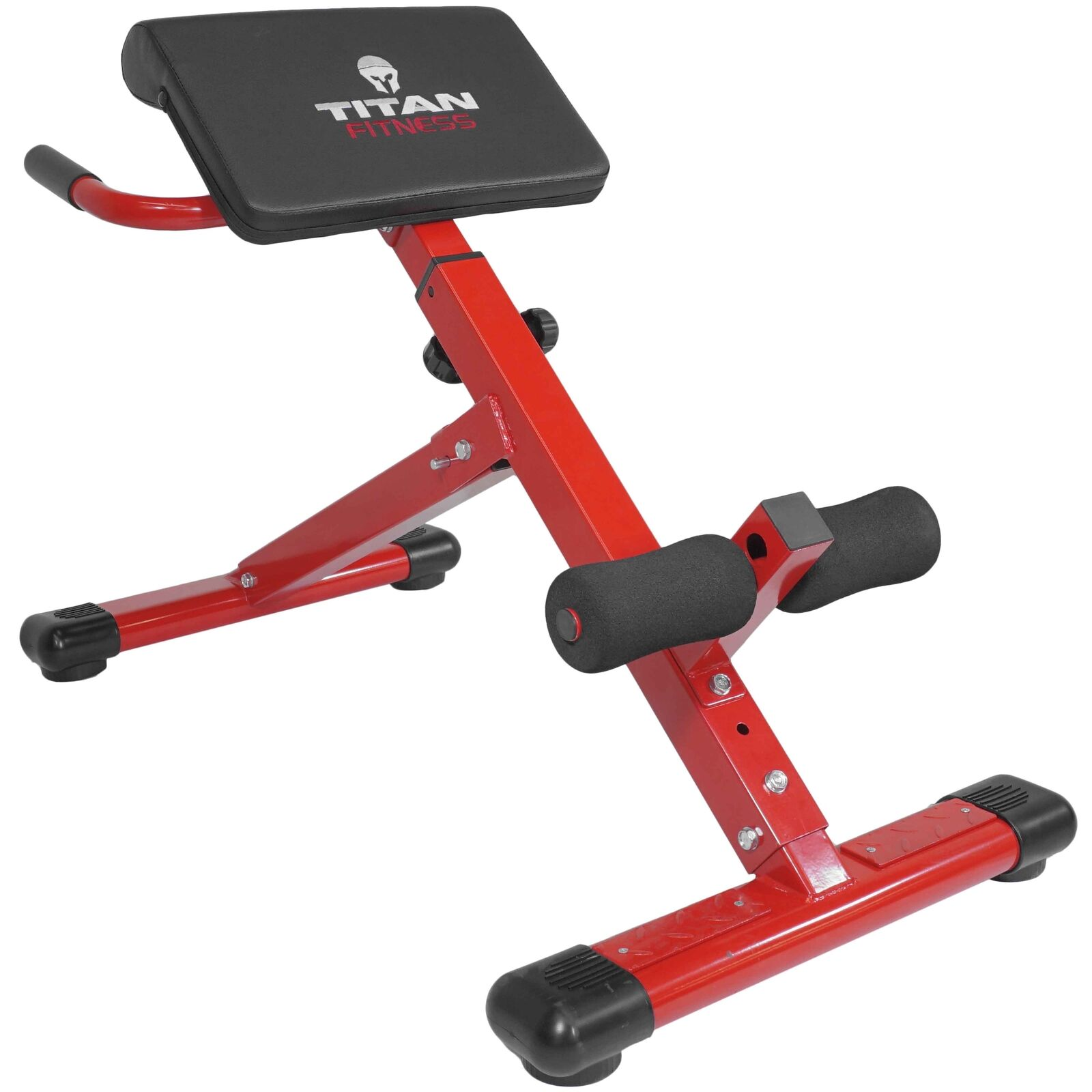 TITAN ABS Back HYPER Extension Exercise Bench Roman Chair X