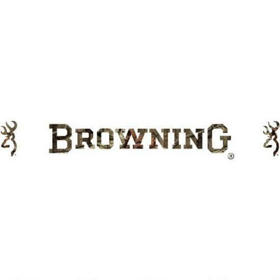 Official Browning Buckmark Windshield Decal Vinyl Truck Car - Browning vinyl decals
