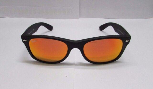 1091c547fd7a4 discount ray bans aviator flash lenses 7ee1c 57ef8  norway ray ban  sunglasses 2132 622 69 orange flash matte black wayfarer new original 2d7e8  59c6a