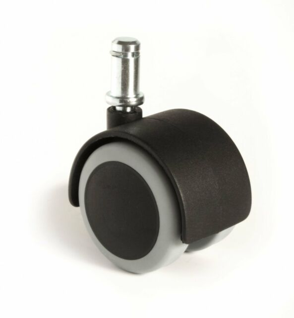 Office Chair Seat Rubber Caster Wheels Replacement Floor Protecting