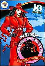BEST OF WHERE ON EARTH IS CARMEN SANDIEGO (Zack) - DVD - Sealed Region 1