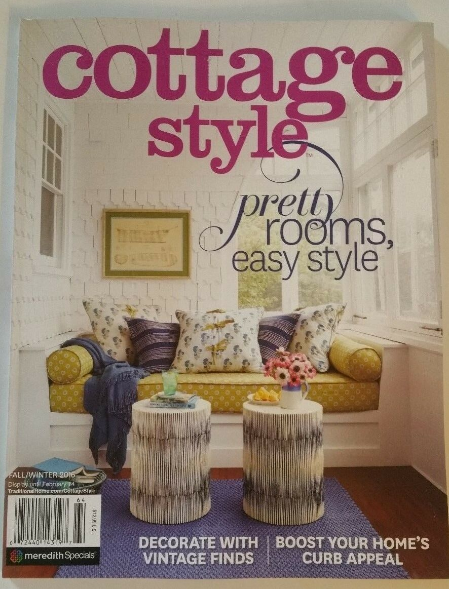Cottage Style Magazine Fall Winter 2016 Pretty Rooms Easy Style ...
