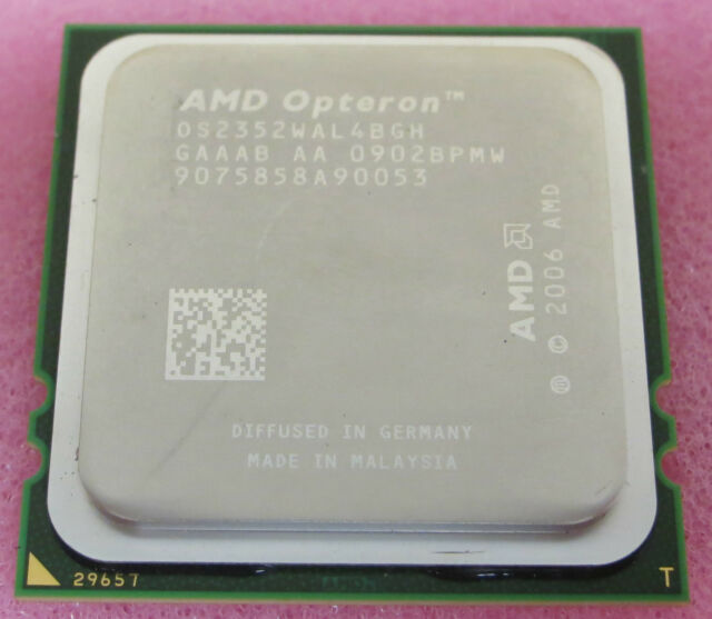 AMD Opteron 3rd Gen 2352 OS2352WAL4BGH 2.1Ghz Quad Core Server Processor CPU
