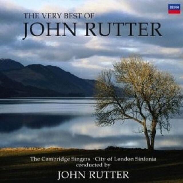 """JOHN RUTTER """"THE VERY BEST OF JOHN RUTTER """" CD NEU"""