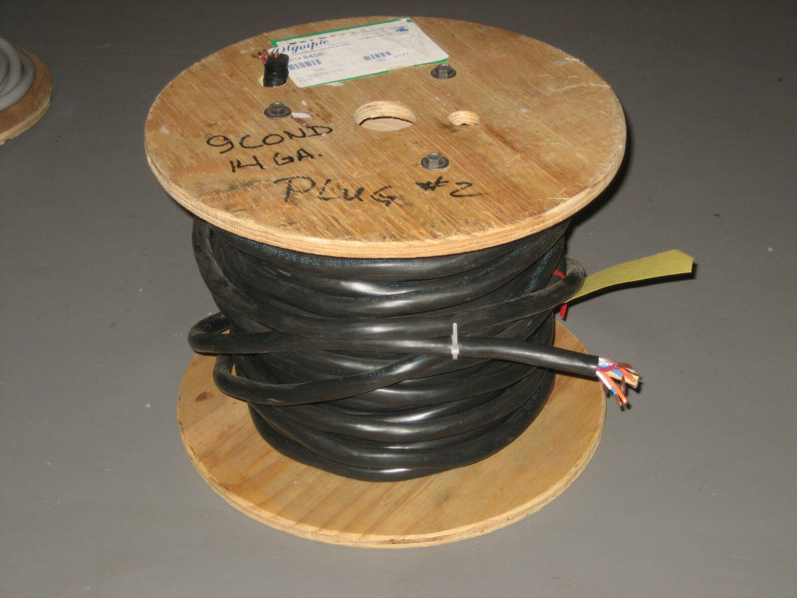 80 FT Olympic Wire 8408 14/9 14 AWG 9 Conductor Direct Burial 600v ...