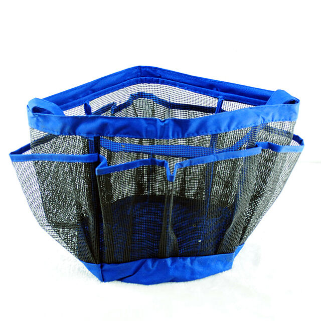 Bathroom Bathtub Shower Organizer Bag Rack Caddy Hanging Tote Travel ...