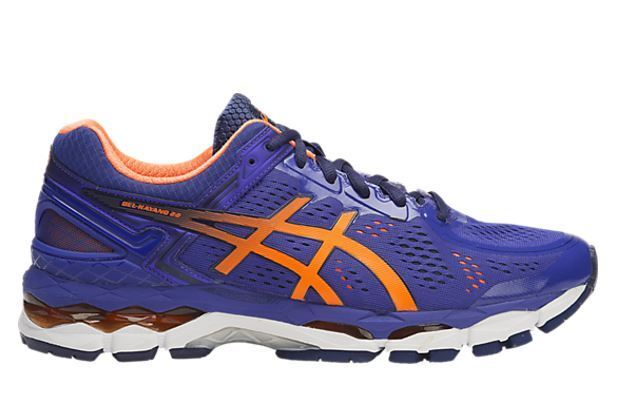 Hommes ASICS GEL Kayano 22 Kayano Chaussures 17924 de course Bleu de Orange T547n 4330 US 10 0130a70 - resepmasakannusantara.website