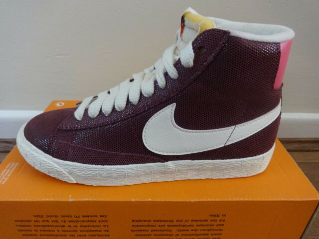 Nike Blazer mid suede vintage womens trainers sneakers shoe 518171 611  NEW+BOX